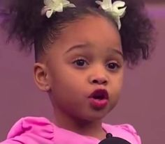 "3-Year-Old Recites Countee Cullen Poem ""Hey Black Child"" Watch her deliver this inspirational and much-needed message in the video inside."