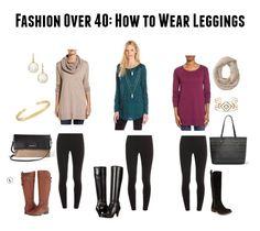 Fashion Over 40. How To Wear Leggings. https://leggingarmy.com/# razzle-dazzle Affiliate Referral Kenneth Martin