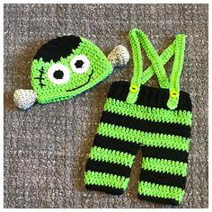 Frankenstein Baby Costume Frankenstein Baby Outfit Newborn