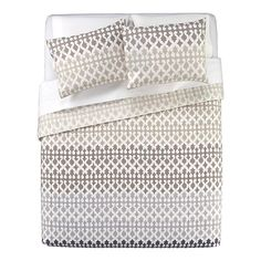 Our bedspread! Inspired the rest of our bedroom colors. | Jaipur Full/Queen Coverlet in Bed & Bath | Crate and Barrel