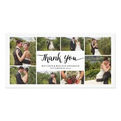 Create your own unique greeting on a Wedding card from Zazzle. From birthday, thank you, or funny cards, discover endless possibilities for the perfect card! Couple Presents, Thank You Friend, Thank You Photos, Wedding Postcard, Thank You Letter, Wedding Thank You Cards, Card Wedding, Wedding Invitation, Marriage Tips
