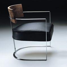 Flexform Morgan Armchair - Metal Armchairs - Modern Armchair - Modern Furniture