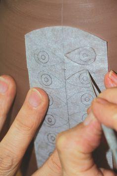 La hermosa t cnica de la cer mica moca v deo tecnicas for Tecnicas para esmaltar ceramica