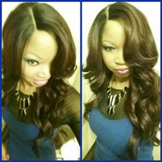 freetress equal synthetic deep invisible l part lace wig danity - www.hairsisters.com