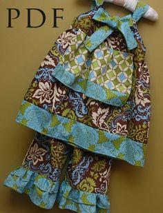 Apron Knot Dress Pattern