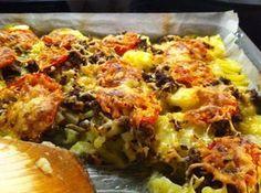 Food - Maistuva jauhelihapaistos www ruokamenot fi kotiruoka resepti Easy Cooking, Cooking Recipes, Healthy Recipes, Good Food, Yummy Food, Tasty, Fodmap Recipes, Food Inspiration, Food To Make