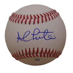 NY Mets Al Leiter signed Rawlings ROLB leather baseball w/ proof photo.  Proof photo of Al signing will be included with your purchase along with a COA issued from Southwestconnection-Memorabilia, guaranteeing the item to pass authentication services from PSA/DNA or JSA. Free USPS shipping. www.AutographedwithProof.com is your one stop for autographed collectibles from New York sports teams. Check back with us often, as we are always obtaining new items.
