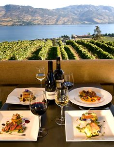 Mission Hill Winery deliciousness...the best winery in Kelowna British Columbia