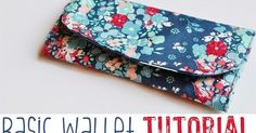 I can't believe we are in September! I have been able to spend quite a bit of time sewing lately since we are back in school and. Handbag Patterns, Bag Patterns To Sew, Diy Wallet Tutorial, Diy Bag Designs, Sew Wallet, Card Wallet, Wallet Sewing Pattern, Birthday Gifts For Teens, Teen Birthday