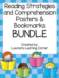 Looking for a way to make your students more aware of the strategies they are using when they read? Well this BUNDLE contains two different sets of bookmarks and corresponding posters to assist you with this at a discounted price! The first bookmark and set of posters is designed for