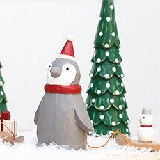 Pole pole de Noël - pingouin