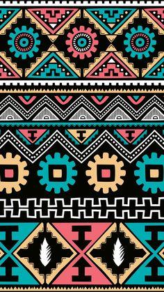 Vs Pink Wallpaper, Aztec Wallpaper, Graphic Wallpaper, Unique Wallpaper, Cute Wallpaper Backgrounds, Pattern Wallpaper, Cute Wallpapers, Iphone Backgrounds, Screen Wallpaper