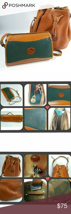 Dooney and Bourke Purses Lot of 2 Some signs of wear inside; needs a little cleaning (see photos) Dooney & Bourke Bags