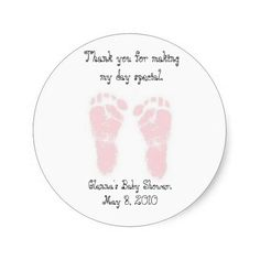 Baby Shower Favor Stickers | Visit the Zazzle Site for More: http://www.zazzle.com/?rf=238228028496470081