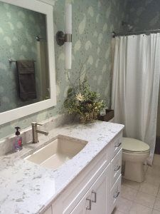 Pro #7693506 | Windmill Countertops | Batavia, IL 60510 Oak Lawn, Concrete Counter, Windmill, Countertops, Sink, Mirror, Furniture, Home Decor, Sink Tops