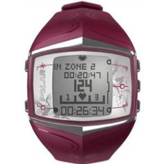 Polar FT60 Women's Heart Rate Monitor Watch (Purple)
