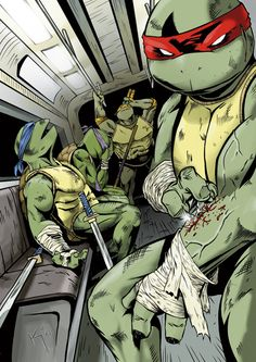 TMNT - KePafrenico.deviantart.com Teenage Ninja Turtles, Ninja Turtles Art, Tmnt Characters, Comic Manga, Comic Art, Jungle Jim's, Action Comics 1, Renaissance Artists, Tmnt 2012