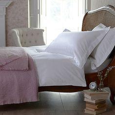 Capri Jacquard Stripe Bed Linen--Cologne & Cotton--BEDROOM--Bed Linen #Cologne & Cotton #Bed Linen