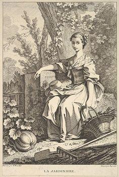 The Gardener After François Boucher (French, Paris 1703–1770 Paris)  Artist:     John Ingram (British, London, ca. 1721–1759) Date:   ...