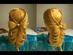 Waltz Dream Hairstyle / Penteado Sonho de Valsa - YouTube