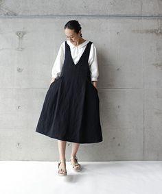 Ry/Washi ツイル ジャンパーSK(ワンピース)|Ebonyivory(エボニーアイボリー)のファッション通販 - ZOZOTOWN