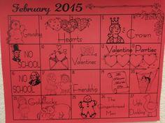 Sm PreK Calendar
