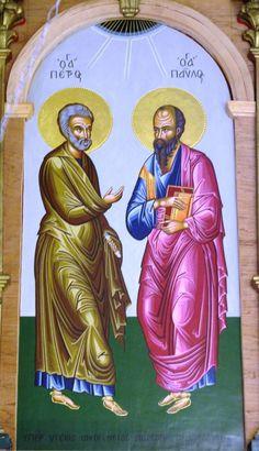 Άγιοι Πέτρος και Παύλος Πρωτοκορυφαίοι Απόστολοι  _ june 29