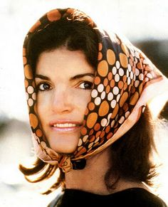Jackie Kennedy and her inimitable scarf style