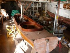 Herreshoff Steam Launch In Auckland New Zealand