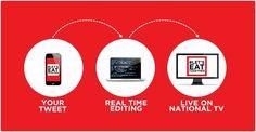 #LetsEatTogether: Coca Cola porta Twitter in tv! Via @Pasquale Carbonara