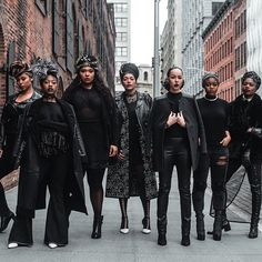 "Black Girl Magic! ""There's room in this world for beauty to be diverse."" --Lupita Nyong'o    Photo: @fanmdjanm  Photographer:@underground_nyc  Creative Director:@findingpaola  Models: @thickgrlscloset @wardrobebreakdown@tabriamajors @rivanyiri @kritiatolode @amiraavee    #melanin #flexinmycomplexion #blackisbeautiful #blackbeauty #brownskin #brownbeauty #blackwomen  #nubian #fleek #myblackisbeautiful"