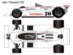 1981 Fittipaldi F8c formula 1 F1, Slot, Motorbikes, Cars