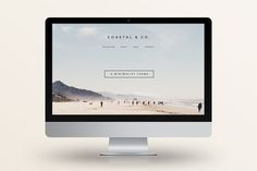 Check out 40% Off! Coastal - WordPress Theme by Station Seven on Creative Market