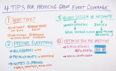 4 Tips for Producing Great #Event Coverage - @mozhq