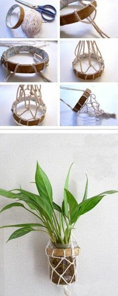 #DIY a Bonsai set, let your home looks more beautiful! #craft, #home decor, #fashion
