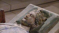 Effigy of Richard I of England in the church of Fontevraud Abbey, Anjou