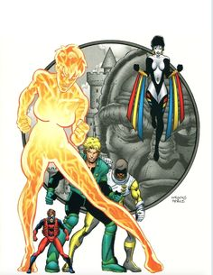 Introduced four brand-new characters: Cody Driscoll, Audrey Spears, Isaiah Crockett and Toni Monetti. Led by the Atom, these kids form a new team of Teen Titans