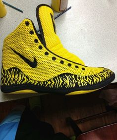make custom wrestling shoes