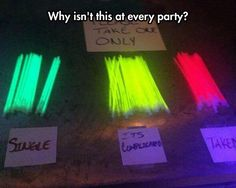 This should be at every party. Brilliant!