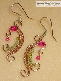 """""""Everything's Rosy"""" Earrings"""