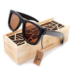 $32.00 (Buy here: https://alitems.com/g/1e8d114494ebda23ff8b16525dc3e8/?i=5&ulp=https%3A%2F%2Fwww.aliexpress.com%2Fitem%2F2015-Top-Gifts-Item-Black-Wood-Grey-Polarized-Lens-Sunglasses-Real-Wood-Sun-Glasses-for-Men%2F32310391832.html ) Luxury Brand Wood Sunglasses for Men and Women New Men's Polarized Sunglasses Beach Outdoor Oculos De Grau with Original Box for just $32.00