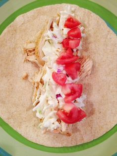 Baja Chicken Tacos - THM FP, if you use 3 ounces of lean chicken breast in your portion (per Pearl)