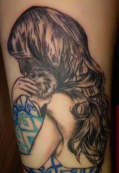 babywearing tattoo