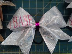 iBase Bow 3 Cheer Bow by ILoveCaliBows on Etsy, $12.00