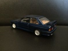 1/43 BMW M3 E30 By Minichamps