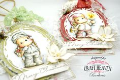 Cards by Barbara: Christmas in July Time at Craft-Heaven...