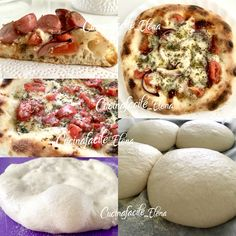 PIZZA CON LIEVITO MADRE sofficissima e digeribile Focaccia Pizza, Salty Cake, Bread And Pastries, Homemade Pasta, Bread Baking, Cheesesteak, Vegetable Pizza, Vegan, Cooking