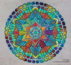 Advanced Mandala A3 Coloring Book 2 Collaboration By Jimdeviantart On