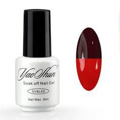 Mood Changing Gel Nail Polish Long-Lasting Soak-Off Led UV Gel Lacquer Chameleon Nail Gel Manicure Varnish - On Trends Avenue
