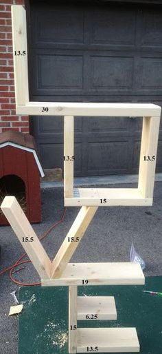 FINALLY!! Found the measurements! Milo promised he would make the shelf for Ls nursery! Yay